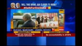 Will PDP and BJP alliance bring J&K closer to India? - NEWSXLIVE