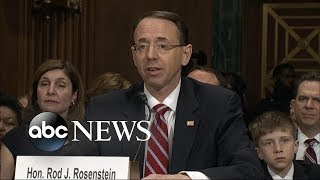 Did Rosenstein suggest to secretly record Trump? - ABCNEWS