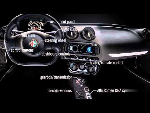 Alfa Romeo 4C e la realtà aumentata