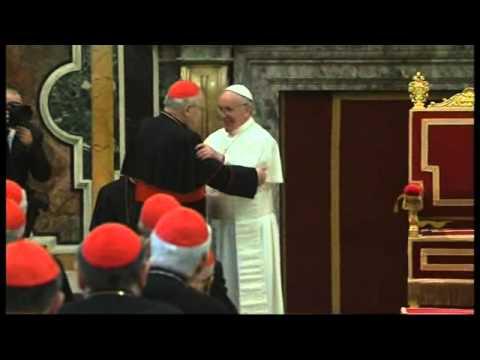 El papa Francisco pide no caer en el pesimismo