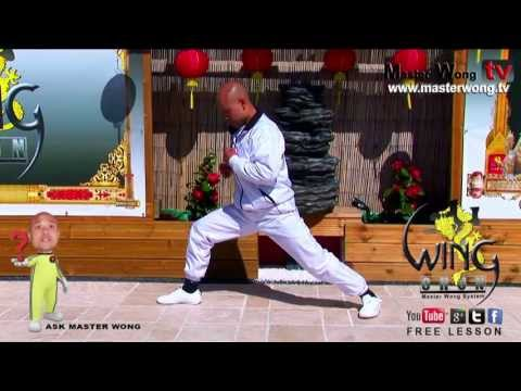 Wing chun course:How to do basic stretches for warm up lesson 1