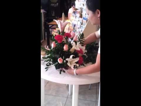 Arreglo floral en 10 minutos