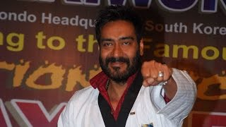 Ajay Devgn honoured with Dan Black Belt - IANSINDIA