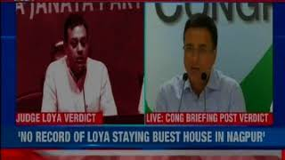 After SC dismisses petitions into the judge Loya death case, Congress challenges the judgment - NEWSXLIVE