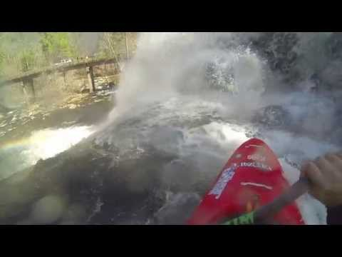 Bald River Falls  and Tellico Kayaking River Scum