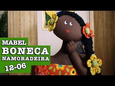 12/06/2014 - Mabel (Bonecas de pano)