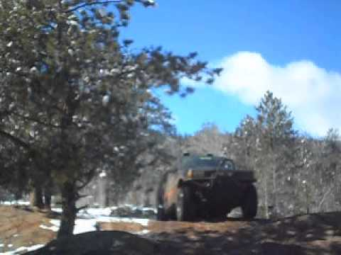 Front Range 4X4 on China Wall 2014