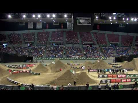 Dew Tour - Dennis Enarson, Ryan Nyquist, Brett Banasiewicz - Cash Roll + BMX Dirt Highlights - Portland 2010