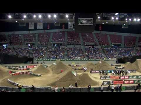 Dew Tour - Dennis Enarson, Ryan Nyquist, Brett Banasiewicz - Cash Roll + BMX Dirt Highlights - Portland 2010