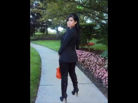 OOTD: Thigh-High Boots (Kim Kardashian Inspired)