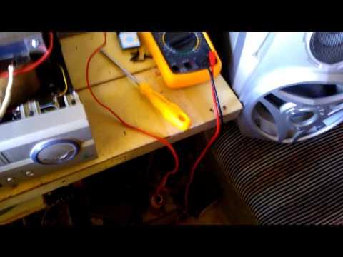 Amplificador de audio 500W RMS Caseiro Teste...