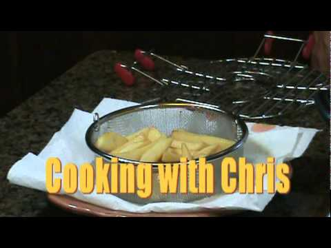 Cooking with Chris - How Fry Steak Fries using The Steamie