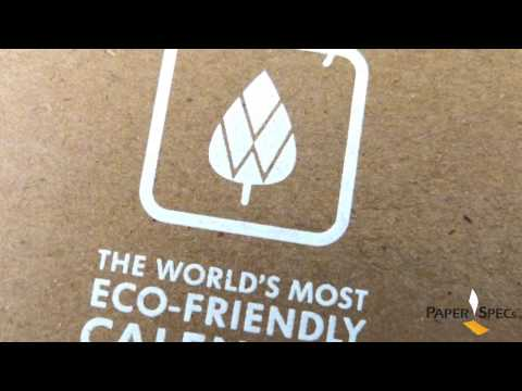 Paper Inspiration #177: Eco-Friendly Calendar