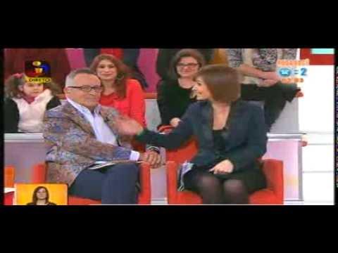 Reacção de Manuel Luís Goucha à musica de Canuco Zumby ft Bernardina - Minha Xuxa