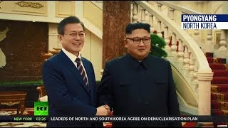 'New era': North & South Korea sign military agreement to 'end the history of tragic conflict' - RUSSIATODAY