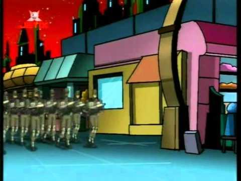 TMNT PL Wojownicze żółwie ninja 2003 - Robozbieg 01E27