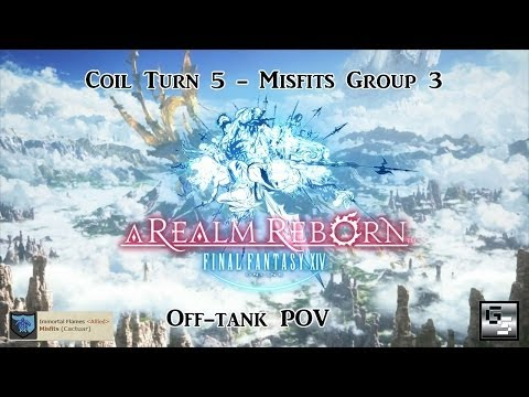 FFXIV - Coil Turn 5 (Best Run Misfits Group 3) - OT POV [HD]