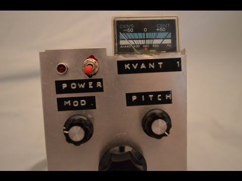 Kvant 1 - DIY Atari Punk Console Synthesizer