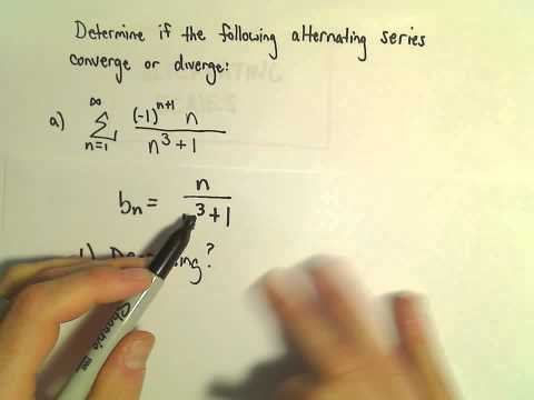 Alternating Series - Another Example 1