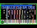 """IMPOSSIBLE REMIX - """"I'm Blue"""" Eiffel 65"""