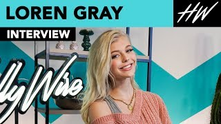 Loren Gray Reveals Kissing Her Co-Star 20 Times & Cries During Eminem's Performance! | Hollywire - HOLLYWIRETV