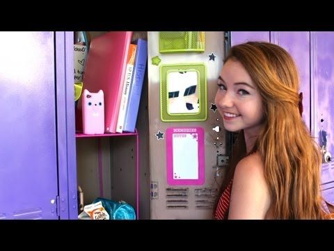 Back-to-School: Locker Organization and Essentials!
