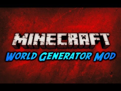 Minecraft World Generator Mod 