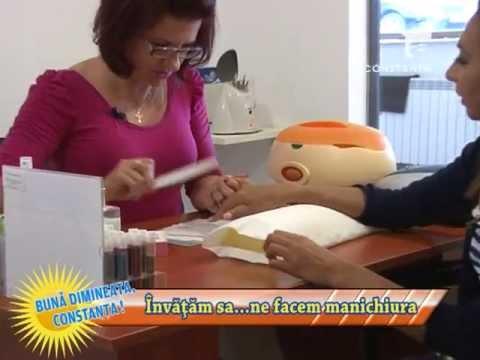 Învățăm să... facem manichiura cu Nicoleta Mocanu - 22 mai 2013