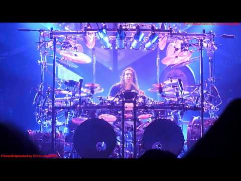 Dream Theater - Drum Solo Mike Mangini, Live Wembley Arena London England, Feb 10 2012