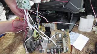 Ремонт ТВ после грозы alpari шасси  SCH-PH002-21-001. Схема