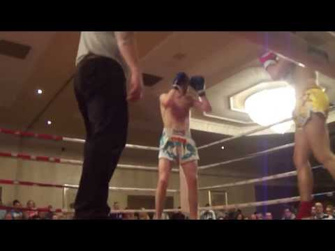 Fight Night  May 18th 2013 Cian O'Neill,CORK THAI v Ian O'Mahony,Cobra Thai.