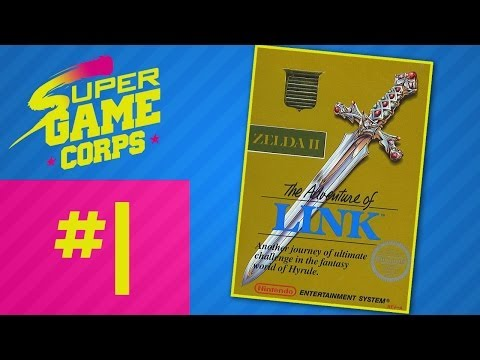 Zelda 2: The Adventure of Link - Part 1 - Super Game Corps
