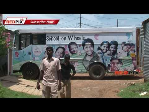 'B' for bus, School on wheel udavum karangal --Red Pix