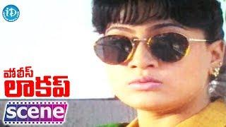 Police Lockup Movie - Vijayashanti Nice Introdcution Action Scene - IDREAMMOVIES