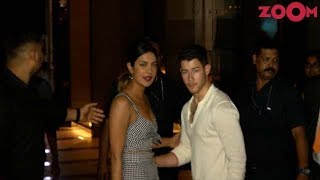 Nick Jonas MEETS Priyanka's Family Over Dinner - ZOOMDEKHO