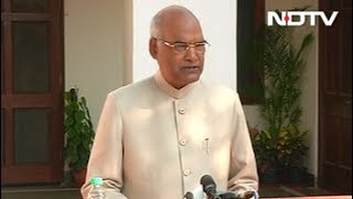 It's A Great Responsibility, Says Ram Nath Kovind On Win - NDTV