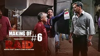 Making of Raid #6 - On Location | Ajay Devgn | Ileana D'Cruz - TSERIES