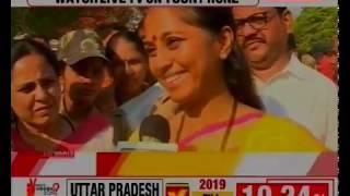 Lok Sabha Election 2019 Phase 3 Voting Day: Supriya Sule to media on contesting Baramati Maharashtra - NEWSXLIVE
