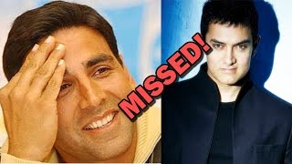 Akshay Kumar misses Aamir Khan's football match! | Bollywood News