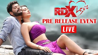 RDX Love Pre Release Event Live | Paayal Rajput | Tejus Kancherla  | TFPC - TFPC