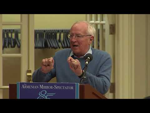 ROBERT FISK in Journalism and 'Fake News', Armenian Mirror-Spectator 85th anniversary symposium