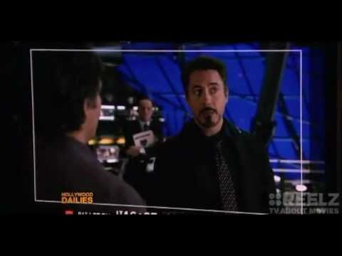 THE AVENGERS Secret Scene Interview