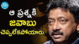 I Don't Have Any Expectations Towards GOD - Director Ram Gopal Varma | Ramuism 2nd Dose - IDREAMMOVIES