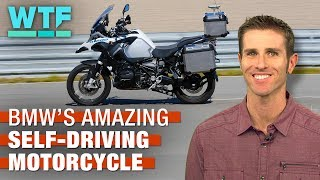 BMW's amazing self-driving motorcycle - CNETTV