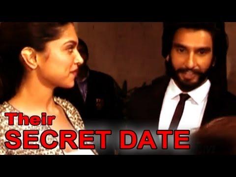 Ranveer - Deepika's secret dinner date captured on zoOm