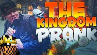 Thumbnail van THE KINGDOM PRANK!! - OPENBARE PRANK!