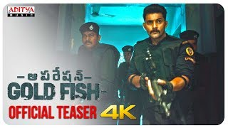 Operation Gold Fish Official Teaser || Aadi, Sasha Chettri, Nitya Naresh || Adivi Sai Kiran - ADITYAMUSIC