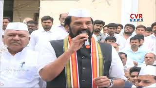 TPCC Cheif Uttam Kumar Reddy Flag Hoisting in Gandhi Bhavan | 72nd Independence Day Celebrations - CVRNEWSOFFICIAL
