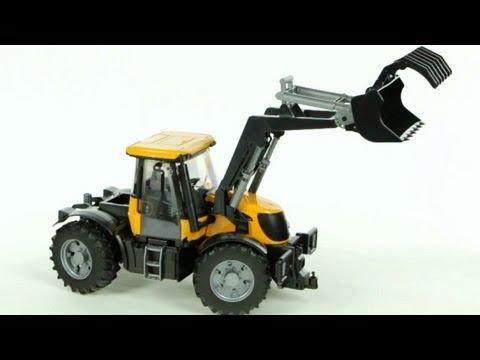 JCB Fastrac 3220 Tractor with Frontloader – Muffin Songs' Oyuncakları Tanıyalım