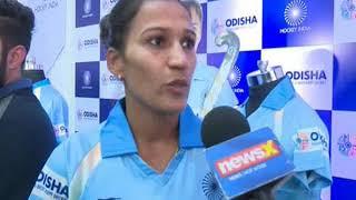 Rani Rampal speaks to NewsX on Hockey World Cup - NEWSXLIVE